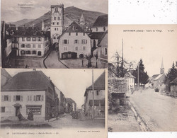 LOT/076........5 CPA DEP68 - 5 - 99 Postcards