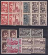 D 196 / LOT ANNEE 1939 BLOC DE 4 NEUF** COTE 68€ - Collections