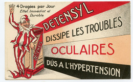 Publicité Détensyl écarte La Menace D'hémorragie Cérébrale . Laboratoire à Nice - Advertising