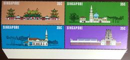 Singapore 1978 National Monuments MNH - Singapore (1959-...)