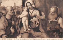 Palma (Musée Condé Chantilly) - La Vierge - L'Enfant Jésus - St Pierre - St Jérôme Et Un Donateur - Schilderijen