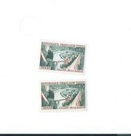 1315  C Timbre Vert Gris Foncé - 1 Normal Livré - Kuriositäten: 1960-69 Ungebraucht
