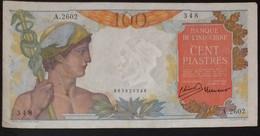 Indochine Indochina Vietnam Viet Nam Laos Cambodia 100 Piastres VF++ Banknote Note 1947-54 / Pick # 82b / 02 Photos - Indochina