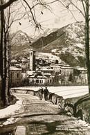 Cartolina - Carlazzo Invernale ( Como ) - Panorama - 1958 - Como