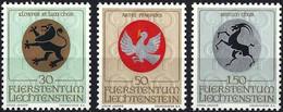 Liechtenstein 1969 -  Mi 514/16 - YT 462/64 ( Religious Coat Of Arms ) MNH** Complete Set - Sellos