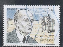 FRANCE 2017 JOSEPH PEYRE OBLITERE  YT 5178 - Used Stamps