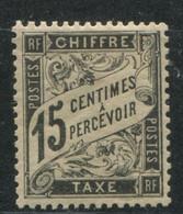 FRANCE - TAXE N° 16  * , TRES BON CENTRAGE - SUP - 1859-1955.. Ungebraucht