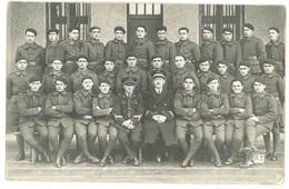 Cpa Carte-photo Militaire, Soldats 11e Régiment ?, écrite D'Istres , Aviateurs - Personajes