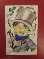 DIV 079 GERMAINE BOURET Carte En Relief Avec Broderie Tissu  Illustrateur - Bouret, Germaine