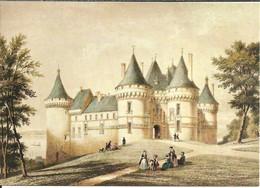 Chaumont Sur Loire (Loir Et Cher, France) Le Chateau, Du Temps Jadis - Altri Comuni