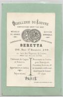 Cdv  Oisellerie Du Louvre 1867 Beretta 198 ,200 Rue St Honoré Paris Carte De Visite époque Empire - Visiting Cards