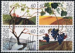 Liechtenstein 1994, Mi. 1089-92 ZD ** - Unused Stamps