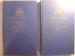 NOMENCLATURE OF ORGANIC CHEMISTRY SECTIONS ABC - IUPAC INTERNATIONAL UNION OF PURE AND APPLIED CHEMISTRY 1966  CHIMIE - - Chemistry