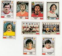9 IMAGES PANINI FOOTBALL 1 ARGENTINA 1978,4 EURO FOOTBALL 1979,4 ESPANA 1982 - Altri