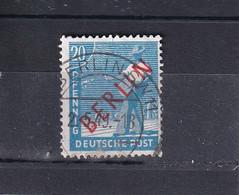 BERLIN 1949 ROTAUFDRUCK 20 Pf/ Mi 26 O - Oblitérés