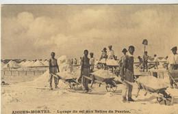 AIGUES - MORTES   - Lavage Du Sel Aux Salins De Perrier - Pont-Saint-Esprit