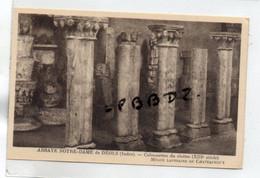 CPA - 36 - CHATEAUROUX - ARCHEOLOGIE - MUSEE LAPIDAIRE - Colonnettes Du Cloître De L'Abbaye Notre Dame De DEOLS - Chateauroux