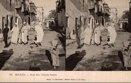 VUES STEREO ELD - 38 - Algérie - Biskra - Rue Des Ouleds-nayls - Biskra