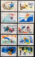 TIMBRES   DE    FRANCE   N° 3691  A  3700        OBLITÉRÉS  ( LOT:5411 ) - Oblitérés