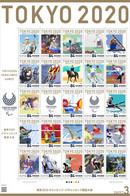Japan 2021 Tokyo2020 Paralympic Games No.3 Sheet Of 25 MNH - Neufs