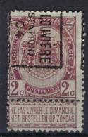 Rijkswapen Nr. 55 Voorafgestempeld Nr. 624 B  LA LOUVIERE (STATION) 04 ; Staat Zie Scan ! Inzet Aan 25 €  ! - Roller Precancels 1900-09