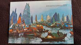 CPM HONG KONG FLOATING PEOPLE IN CASTLE PEAK BAY NATIONAL CO N 833 - Cina (Hong Kong)