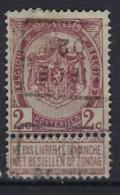 RIJKSWAPEN Nr. 55   Voorafgestempeld Nr. 461 D   LIEGE 02  ; Staat Zie Scan ! Inzet Aan 15 € ! - Roller Precancels 1900-09