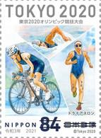 (oly46) Japan Olympic Games Tokyo 2020 Triathlon MNH - Neufs