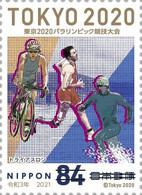(oly71) Japan Paralympic Games Tokyo 2020 Triathlon MNH - Neufs
