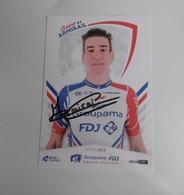Cyclisme -   Autographe - Carte Signée Bruno Armirail - Ciclismo
