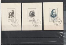 CHINE 1956 Bloc Feuillet Savants De L'ancienne Chine N°4 à 7 - - Used Stamps