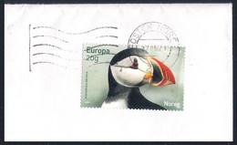 Norway [EUROPA 2021] Endangered National Wildlife - Used Stamp (Fratercula Arctica) On Fragment - Sammlungen