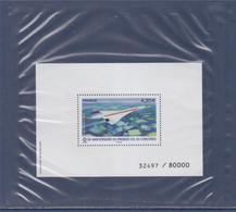 Bloc Avec Timbre PA83 De 2019 Concorde Neuf Gommé Sous Emballage D'origine 32497/80000 - 1960-.... Ungebraucht