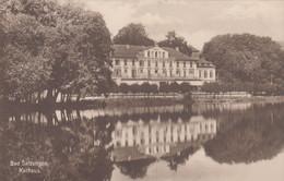 6141) BAD SALZUNGEN - KURHAUS Mit Spiegelung Im Wasser - 8.10.1925 !!! - Bad Salzungen