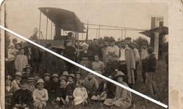 1V6 Ag  Carte Photo 58 Pougues Les Eaux Aéroplane De Bombardement Tombé En 1916 Champ De Mr Bert De La Bussiére - Pougues Les Eaux