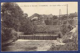 CPA BOUCHES-DU-RHONE (13) - ENVIRONS DE MARSEILLE - SAINT-MARCEL - LES CHUTES D'EAU - Altri Comuni