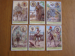 PEUPLADES DU CONGO BELGE 2 ème Partie Afrique Colonie Belgique  Liebig  Série Complète De 6 Chromos Trading Cards Chromo - Liebig