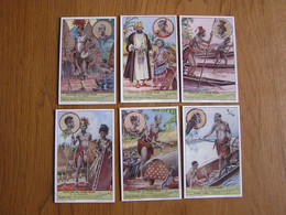 PEUPLADES DU CONGO BELGE 3 ème Partie Afrique Colonie Belgique  Liebig  Série Complète De 6 Chromos Trading Cards Chromo - Liebig