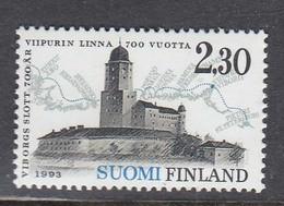 Finland 1993 - 700 Years City Of Vyborg, Mi-Nr. 1209, MNH** - Nuevos
