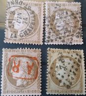 FRANCE - DESTOCKAGE - N° 58 - 4 TP  - A Voir - 2 Photos - 1871-1875 Ceres