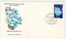 Congo // Champignons Lettre 1er Jour - Pilze