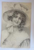 Künstlerkarte, Frauen, Mode, Hutmode,    1908, Munk Vienne ♥ (14194) - Ohne Zuordnung