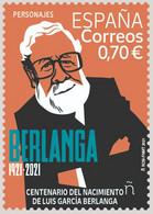 España. Spain. 2021. Personajes. Centenario Del Nacimiento De Luis García Berlanga - 2011-... Nuevos & Fijasellos
