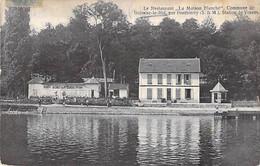 """77 - BOISSISE Le ROI Par PONTHIERRY - Station VOSVES Le Restaurant """" MAISON BLANCHE """"  CPA Village (3.760 H) Seine Marne - Andere Gemeenten"""