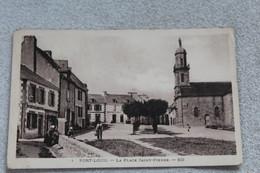 Port Louis, La Place Saint Pierre, Morbihan 56 - Port Louis