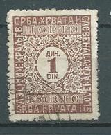 YOUGOSLAVIE-  TAXE  - Yvert N° 61   OBlitéré -   Pal 7130 - Portomarken