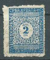 YOUGOSLAVIE-  TAXE  - Yvert N° 62   OBlitéré -   Pal 7131 - Portomarken