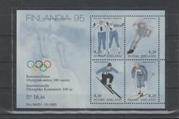 Finland 1994 IOC Centenary Souvenir Sheet MNH/** (H25) - Other