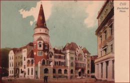 Celje (Cilli) * Deutsches Haus, Gebäude, Leute * Slowenien * AK1093 - Slovenia