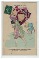 ILLUSTRATEUR XAVIER SAGER #16642 LA MODE EN 1910 IL N Y AURA QUE MON CHAPEAU PARAPLUIE ROSE - Sager, Xavier